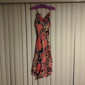 Angie Floral Cami Light Summer Flowy Dress